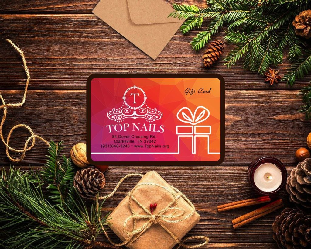Gift Card, Gift Certificate | Top Nails